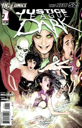 Justice League Dark Vol 1-1 Cover-1