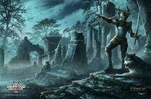 Sherwood dungeon knight by ker