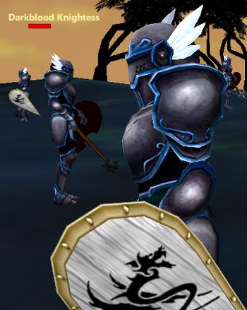 Darkblood Knightess sol