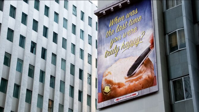 Butter ad campaign