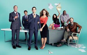 "Cast of ""Ground Floor"""
