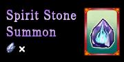 Spirit Stone Summons