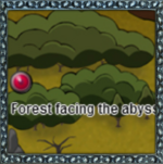 Forest Facing the Abyss