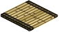 Rattan rug -1-