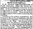 Freeport Journal/1854-11-16/Mount Carroll Seminary