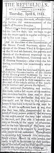 Republican 1854 1