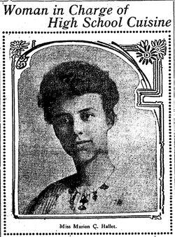 Marion hallett 1907