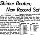 Morning Star/1963-12-11/Shimer Beaten; New Record Set