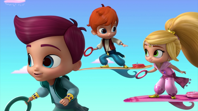 File:Kaz and Zac Toss Shimmer and Shine.png