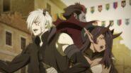 Azazel, Belphegor, and Dante