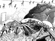 Reiner loses to the Beast Titan.png