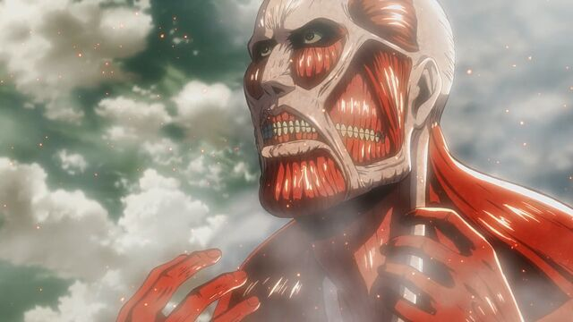 File:The Colossal Titan at Wall Rose.jpg