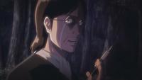 Grisha prepares to give Eren the serum