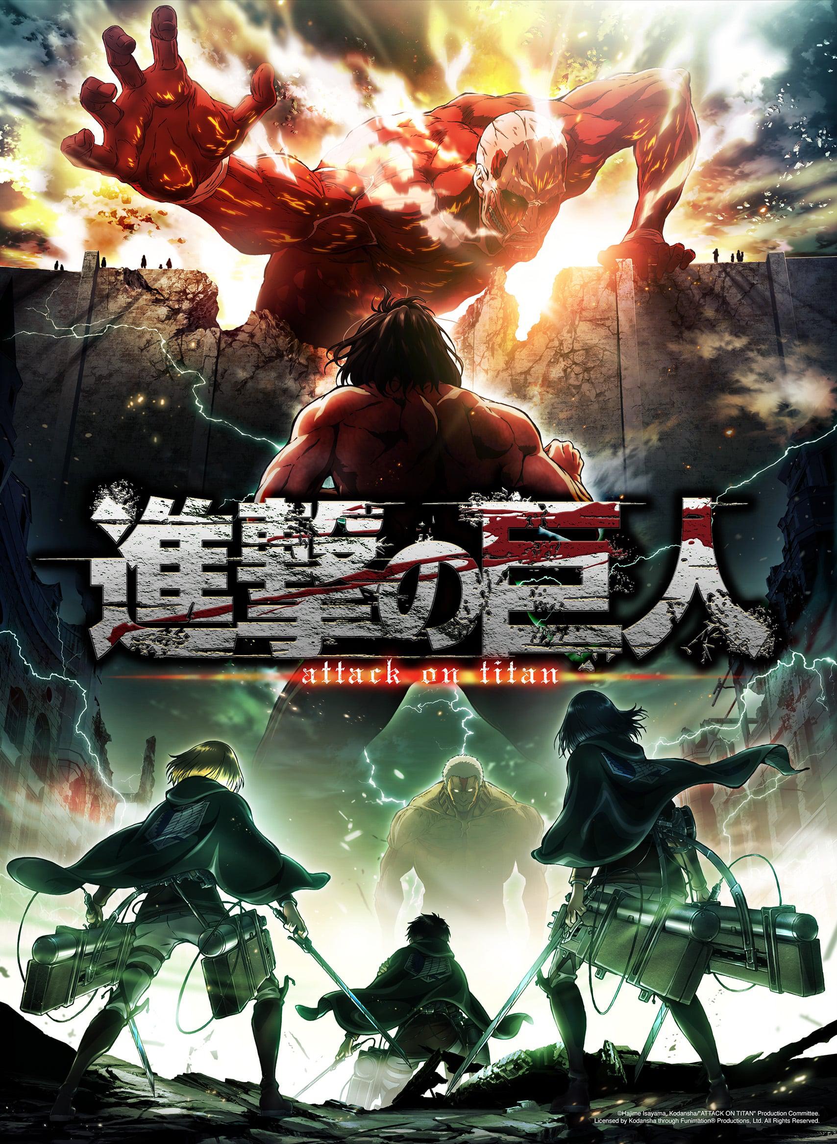 Ataque A Los Titanes Temporada 2 (HD Japones Subtitulado 720p) 2017