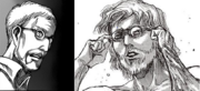 The Beast Titan and Mr. Smith face comparison