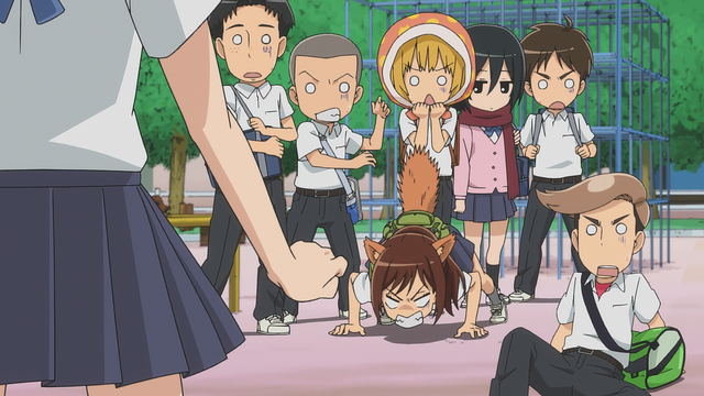 File:The group reacts to Annie's scream.png