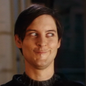 File:Tobey Maguire Creepy Smile Meme.png
