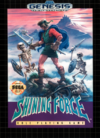 Shining Force-box art