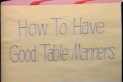 HowToHaveGoodTableManners