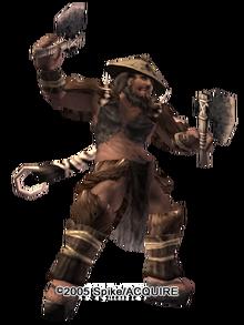 Barbarian chief