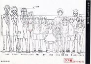 Squid Girl Characters Heights