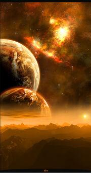 Hikaeon filled universe