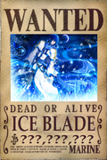 Ice Blade's Wanted Poster