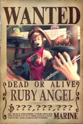 Ruby's Wanted Poster