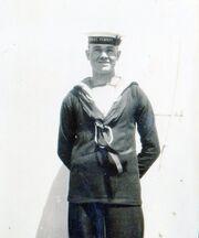 My dad on HMAS Sydney 1 in 1926