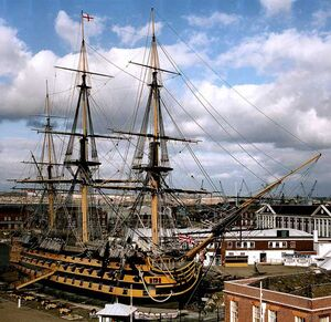 Sailing-ships-HMS-Victory