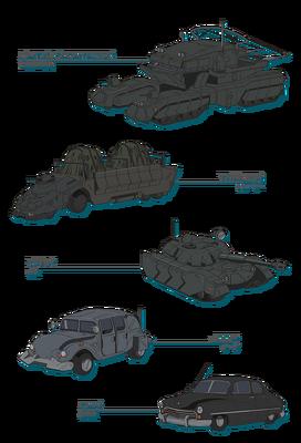 Ingelmia Vehicles