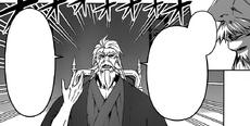 Senzaemon tasting Takumi's dish
