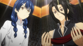 Megumi vs. Ryō
