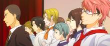 Alumni explaining the training camp (anime)