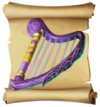 Music Frostfire Harp Blueprint