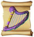 Music Frostfire Harp Blueprint.png