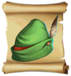 Hats Plumed Hat Blueprint