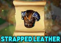 Vests StrappedLeatherBlueprint