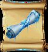 Spells Freezing Scroll Blueprint
