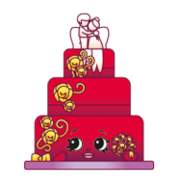 Wendy Wedding Cake 3-017
