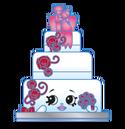 Wendy wedding cake art