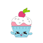 Cherry cake art