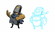 Body Swap Tinker Knight Concept 2