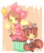 Candy Lapin and Choculille