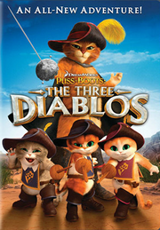 Puss in Boots The Three Diablos DVD cover