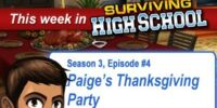 Paige's Thanksgiving Party