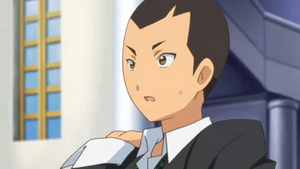 Surprised Yugaku