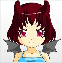 Del, made with the anime face maker 2