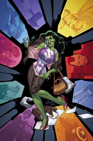 File:She-Hulk Vol 3 1 Conner Variant Textless.jpg