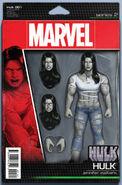 Hulk Vol 4 1 Action Figure Variant